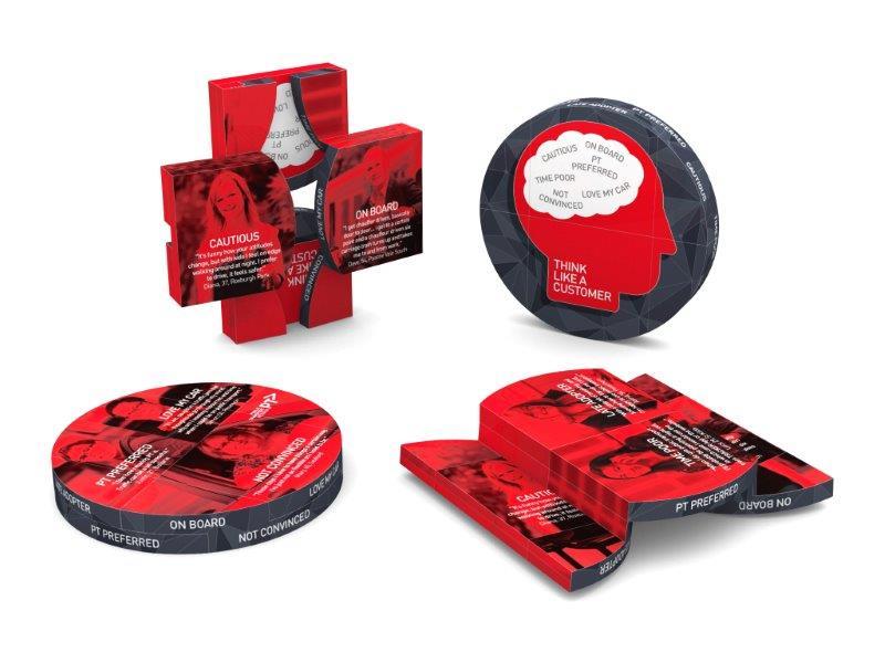 magic folding disk